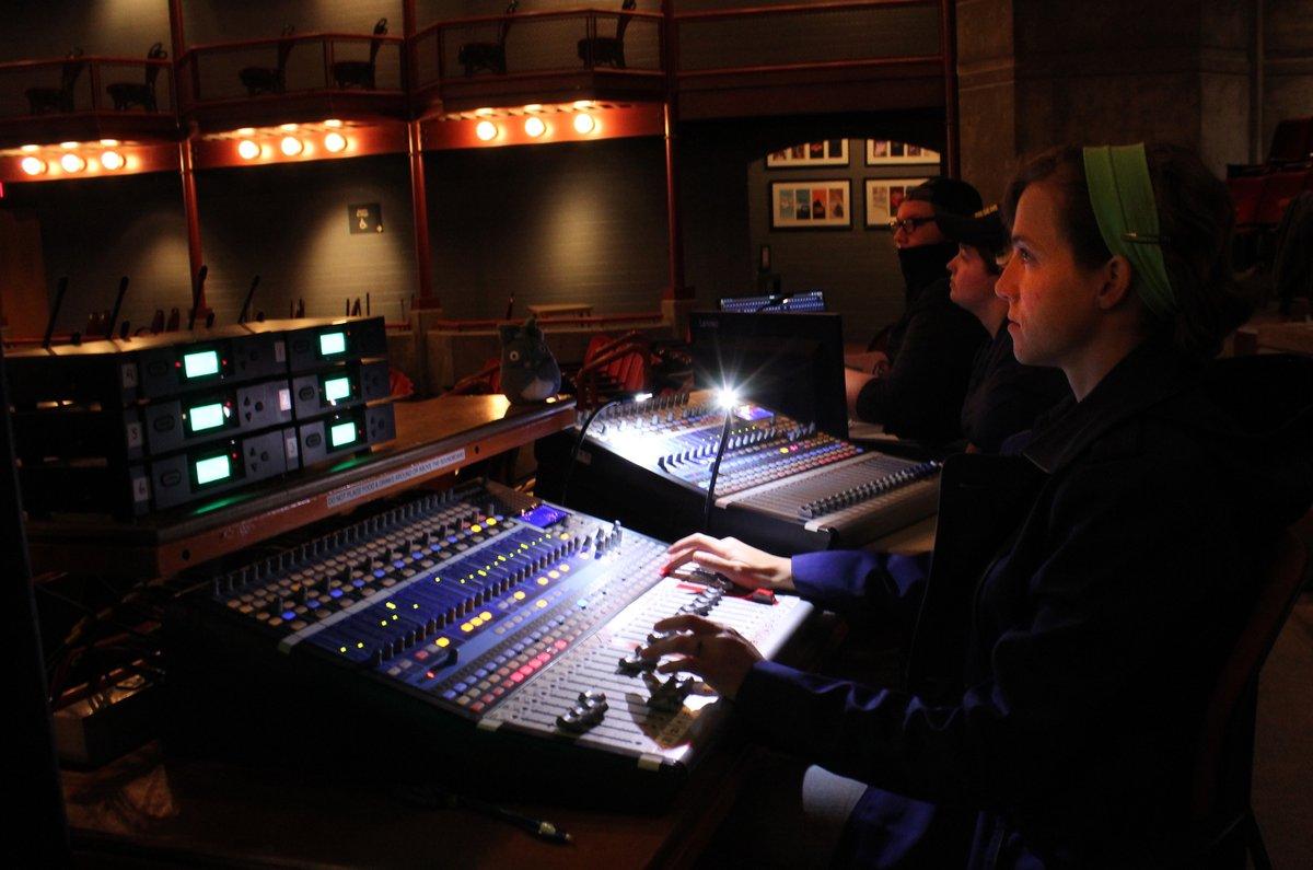 ABTT Silver Award for Sound Technicians