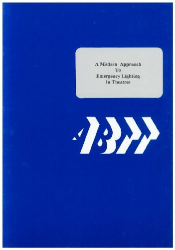 COP005: A Modern Approach to Emergency Lighting in Theatres (1995 Edition)