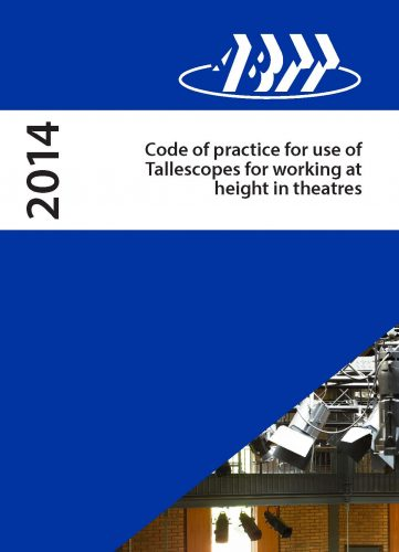 COP012: For the use Tallescopes for Working at Height in Theatres (2014 Edition)