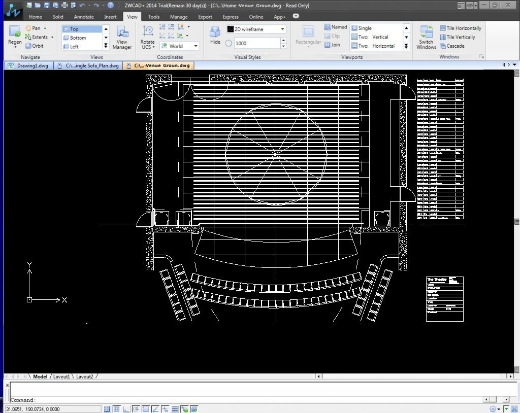 AutoCAD Online Training for Theatre Technicians (all modules)