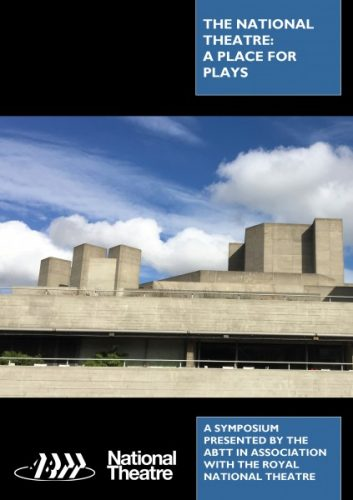 The National Theatre: A Place for Plays