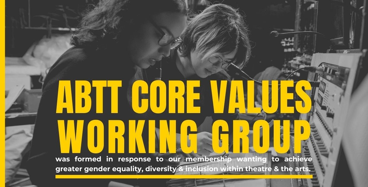 ABTT Core Values Working Group Meeting – April 2021