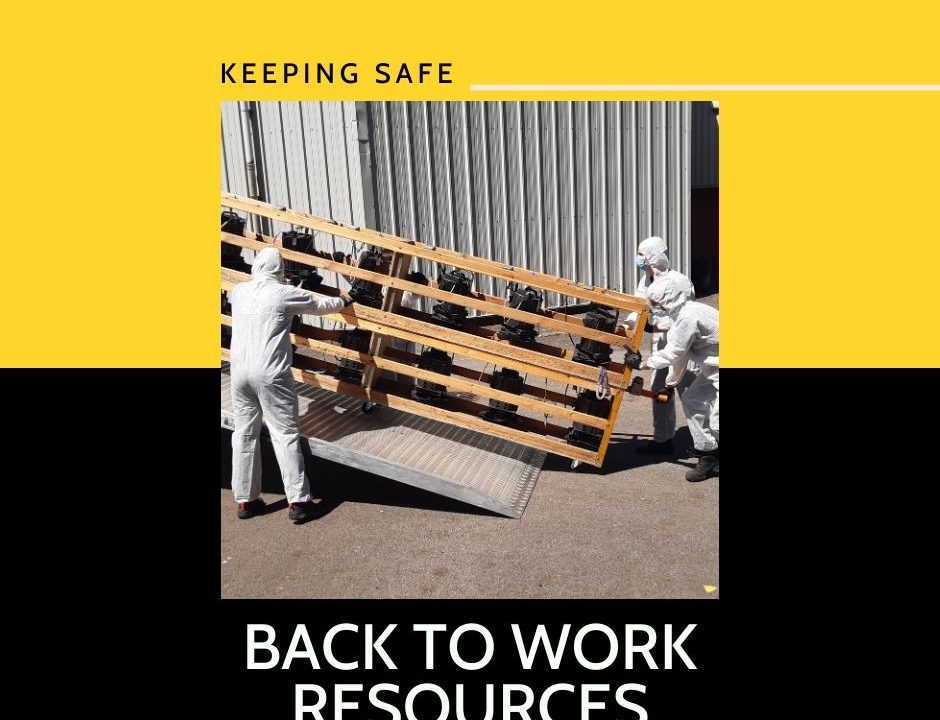Back To Work: Working safely