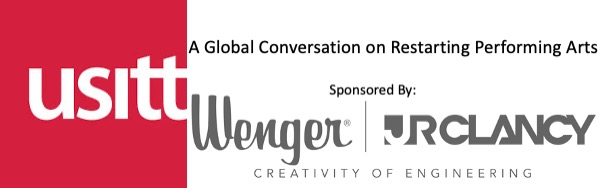 USITT and Wenger Corporation Host A Global Conversation on Restarting Performing Arts Industry