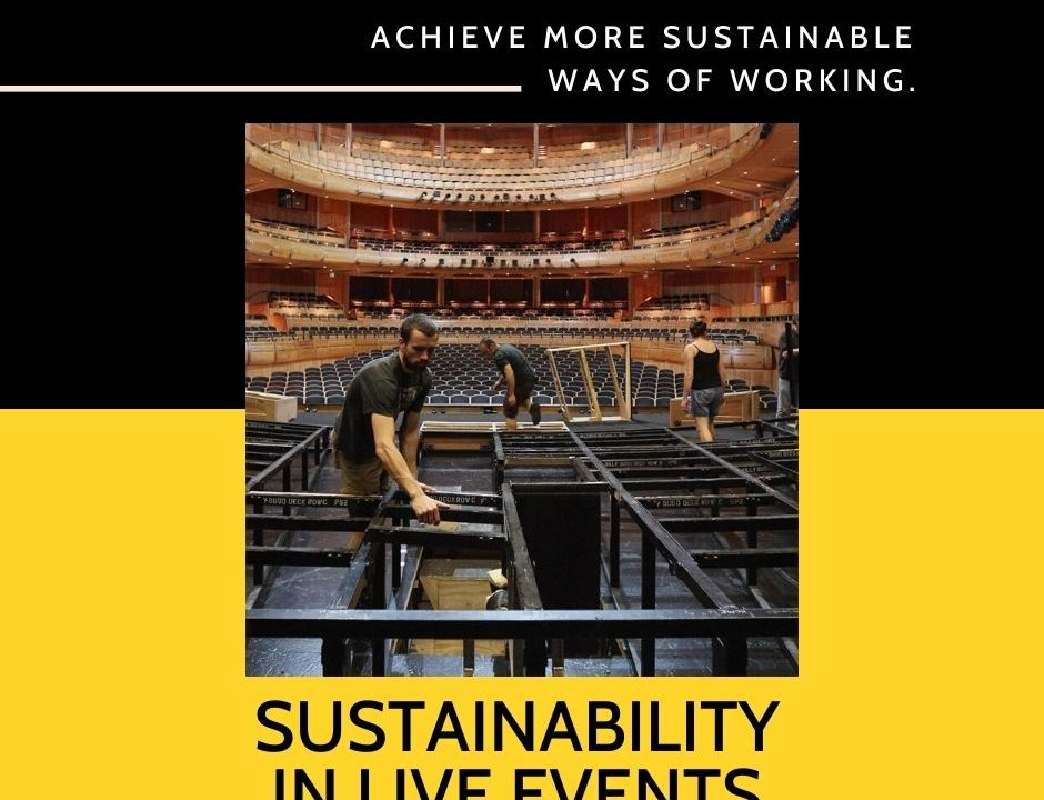 Sustainability in Live Performance