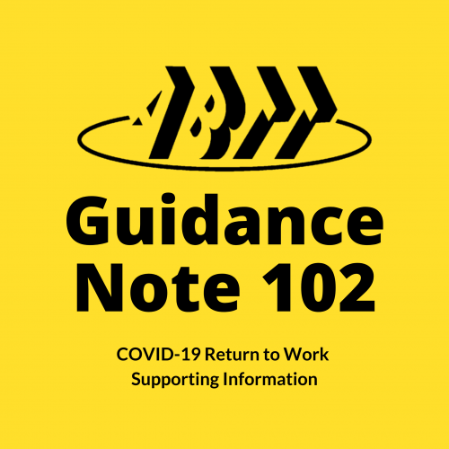 Guidance Note 102 – COVID-19 Returning to Work Support Information