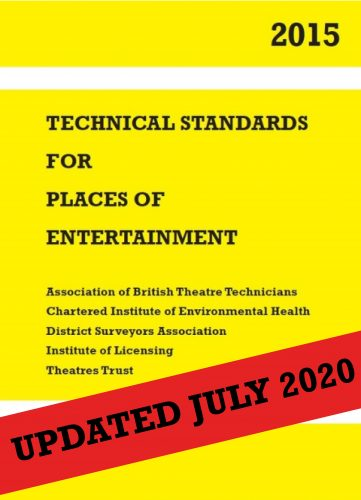 Technical Standards for Places of Entertainment (Hard-copy with online access to e-book)