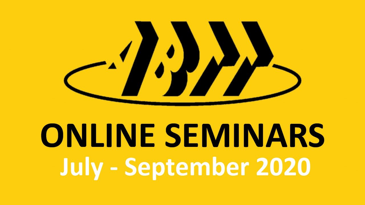 ABTT Seminars Summer 2020