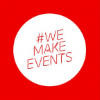 """#LightItInRed supports #WeMakeEvents – """"Global Day of Action"""""""