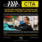 ABTT Seminar: Covid-safe working for Costume and Wardrobe in Theatre and Live Events
