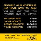 ABTT Membership Renewals Due
