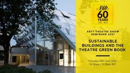 ABTT Seminar: Sustainable Buildings – The Theatre Green Book (Volume 2)