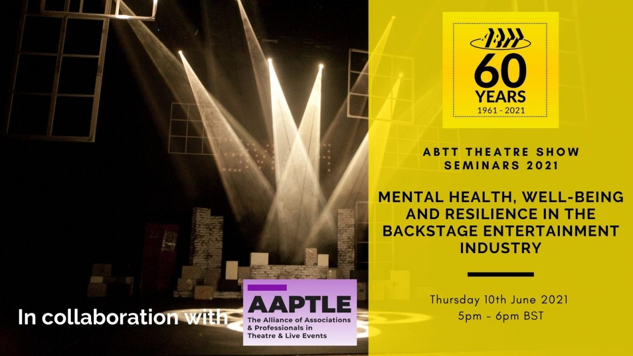 Mental Health, Well-being and Resilience in the Backstage Entertainment Industry