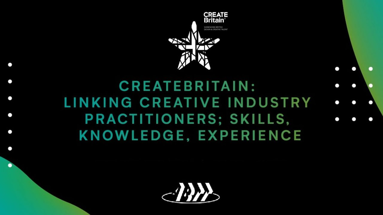 ABTT Seminar: CREATEBritain – Linking creative industry practitioners