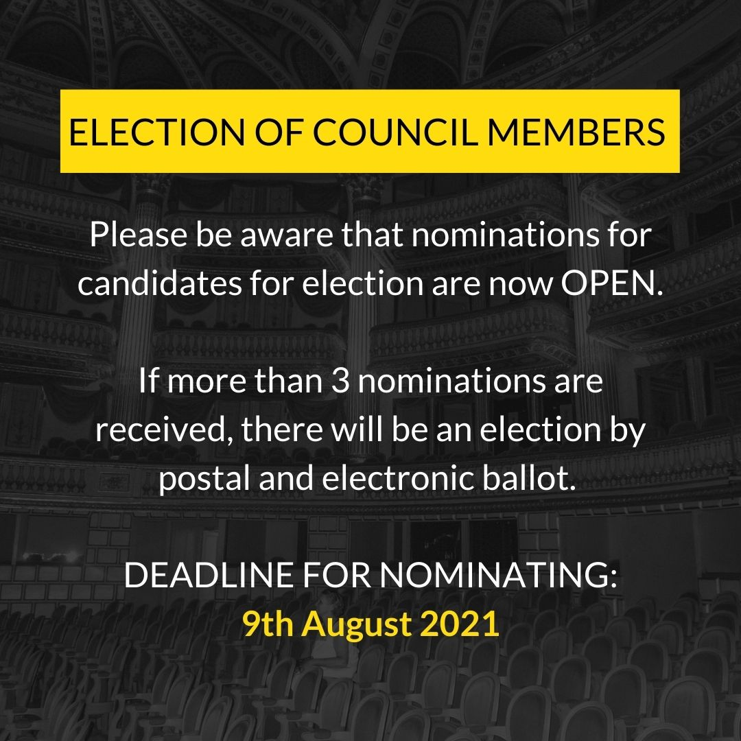 ABTT Notice of Council Elections 2021
